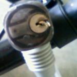 自転車の鍵