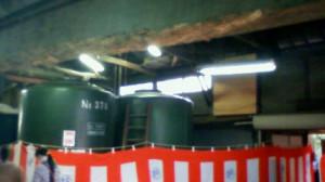 蔵のタンク